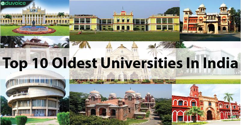 Top 10 oldest universities in India